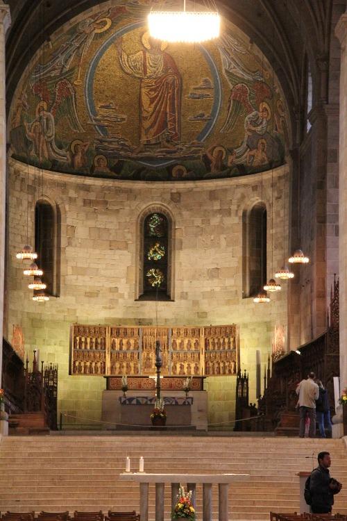 Der Dom zu Lund Altar in Schweden
