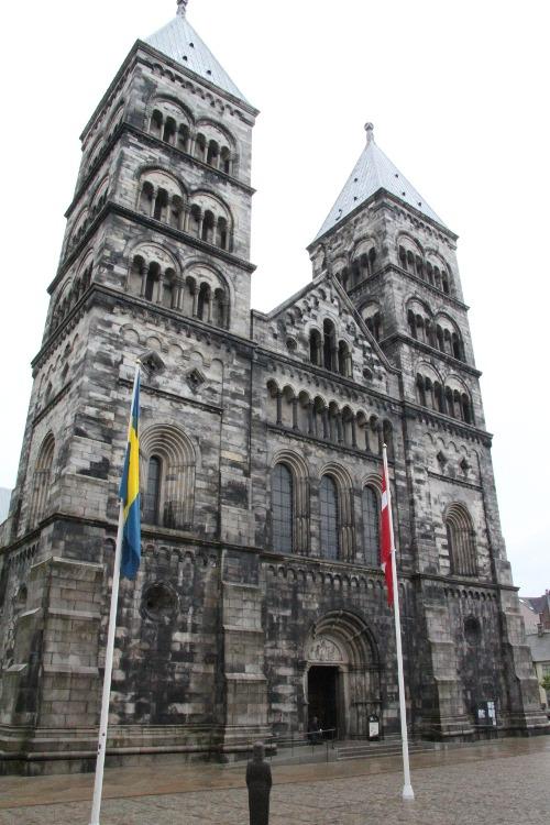 Der Dom zu Lund in Schweden