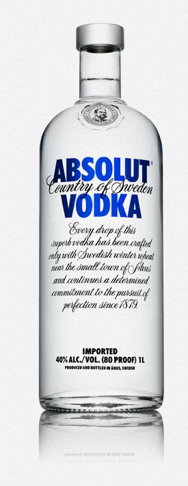 Absolut Vodka aus Ahus Bildquelle: theabsolutcompany.com