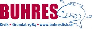 """Fischgeschäft Schwedens - """"Buhres Fisk"""" - Logo: Bildquelle: buhresfisk.se"""