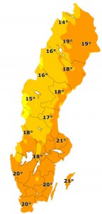 Wetter in Schweden Bildquelle: http://www.klart.se/