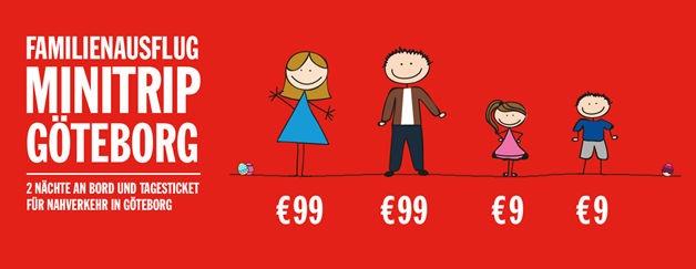 Minitrip Göteborg für Familien mit Kindern: Ostern 2015. Bildquelle: Stenaline.de