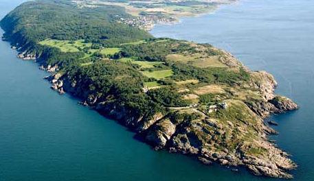 Kullen – Kullaberg (Kullabygden) ist die Kullen Halbinsel