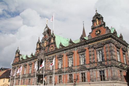 Rathaus von Malmö und Stortorget