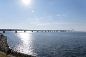 Öresund-Brücke zwichen Schweden und Kopenhagen. Bildquelle: Silvia Man/imagebank.sweden.se