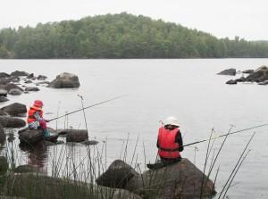 Angeln in Schweden auf über 9000 Seen. Bildquelle: Ulf Lundin/imagebank.sweden.se