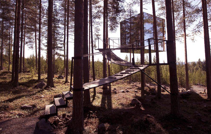 Treehotel in Schweden. Bildquelle: treehotel.se
