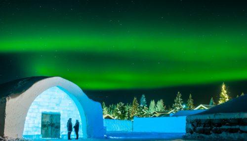 Eishotel in Schweden
