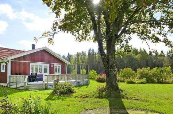 Alleinlages Ferienhaus in Westschweden Brålanda Vänern für 4 Personen