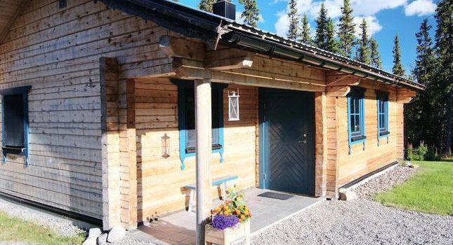 Ferienhaus aus Holz in Nordschweden Galåbodarna Jämtlands län für 4 Personen