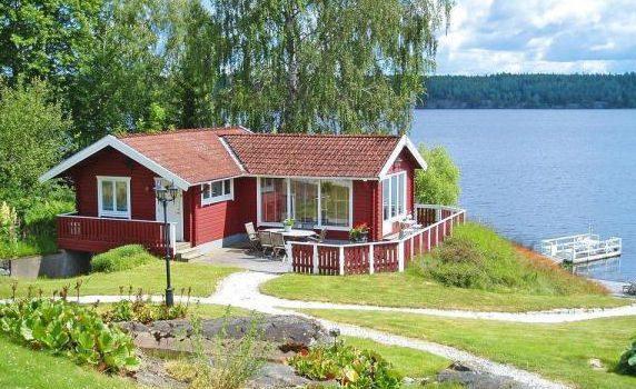 Ferienhaus in Åmmeberg Vättern Mittelschweden für 2 Personen