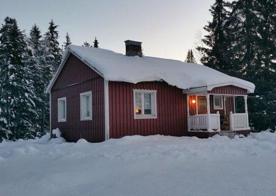 Ferienhaus in Abborrträsk Lappland in Schweden für 4 Personen