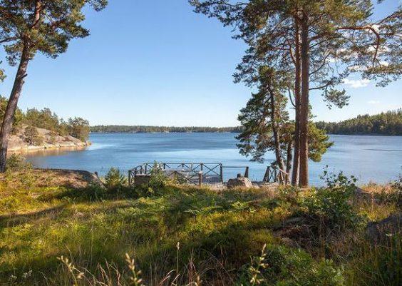 Ferienhaus in Mittelschweden Gällnö Stockholmer Schärengarten in einer ruhigen Lage für 8 Personen