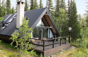 Ferienhaus in Nordschweden direkt am See Härjedalen Härjedalen für 6 Personen