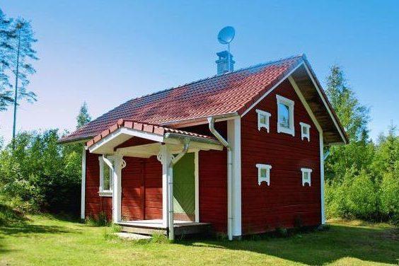 Ferienhaus in Südschweden Myrhult Vänern für 4 Erwachsene und 1 Kind