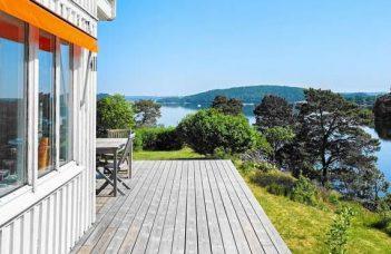Ferienhaus in Westschweden Slussen Kattegatküste Schweden für 8 Personen