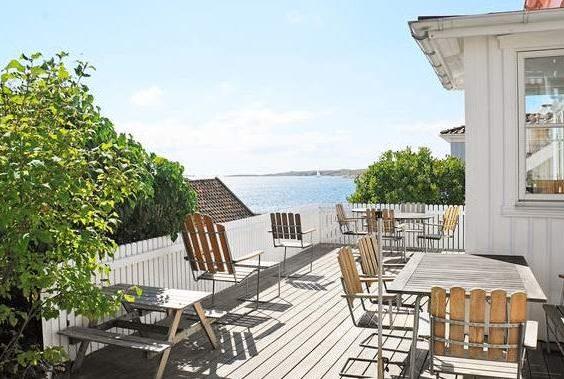 Ferienhaus in Westschweden am See Hälleviksstrand Kattegatküste Schweden für 6 Personen