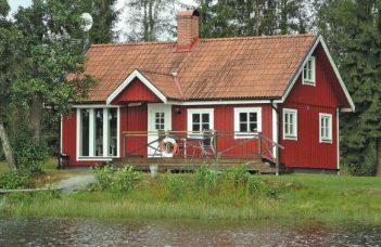 Ferienhaus mit Boot in Südschweden in Hässleholm Schonen für 4 Personen