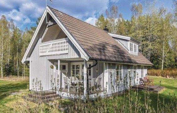 Holz Ferienhaus in Mittelschweden Årjäng, Värmland, Schweden für 7 Personen