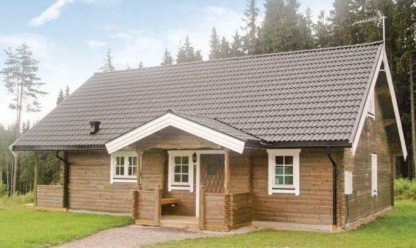 Holz Ferienhaus in Mittelschweden Charlottenberg Värmland für 8 Personen