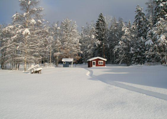Winterurlaub in Schweden Foto von Silke Nordfjäll