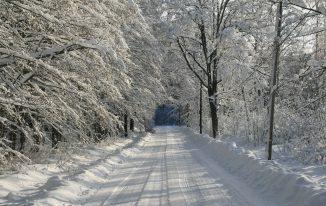 Winterlanschaften Schwedens - schöne Natur Bild von Silke Nordfjäll