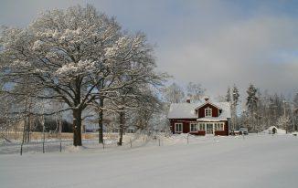 Ferienhäuse in Schweden - schöner Winterurlaub in Schweden Bild von Silke Nordfjäll