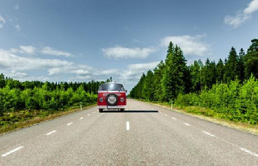 Straßenverkehr in Schweden
