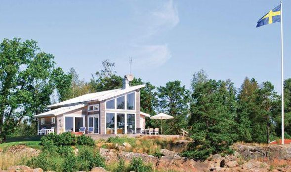 Villa in Südschweden direkt am Wasser Mellerud Vänern für 6 Personen