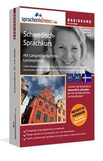 """""""Lehrt Schwedisch wesentlich schneller als mit herkömmlichen Lernmethoden – bei nur 17 Minuten Lernzeit pro Tag"""""""