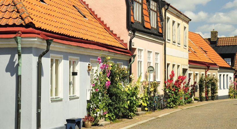 Ein Ferienhaus in Ystad