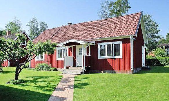 Ferienhaus Anneberg, Småland Vimmerby und Umgebung, Schweden für max. 4 Erwachsene und 1 Kind direkt am See