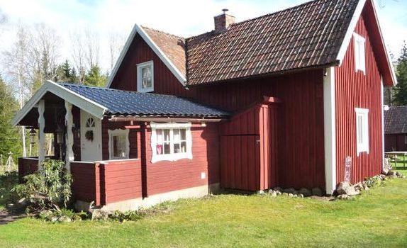 Familenfreundliches Ferienhaus Småland Ljungby (Kronobergs län) Schweden für max. 5 Erwachsene und 1 Kind