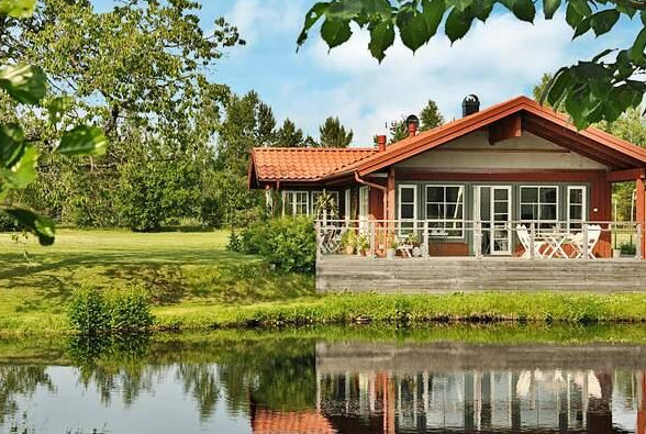 Ferienhaus Småland direkt am See Bodafors (Jönköpings län), Schweden für max. 6 Personen