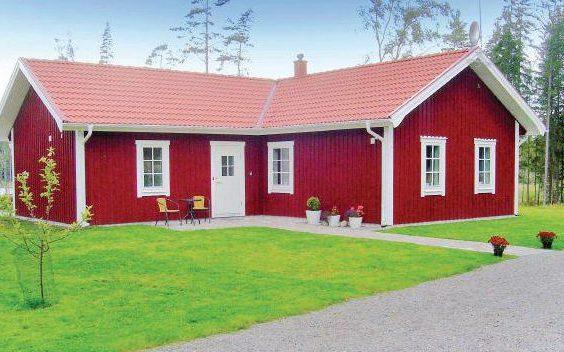Ferienhaus in Åbogen, Småland am see mit Boot ohne Nachbarn (Kronobergs län), Schweden für max. 8 Personen