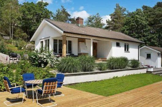 Ferienhaus in Hakenäset mit Pool, Kattegatküste Schweden für max. 7 Personen