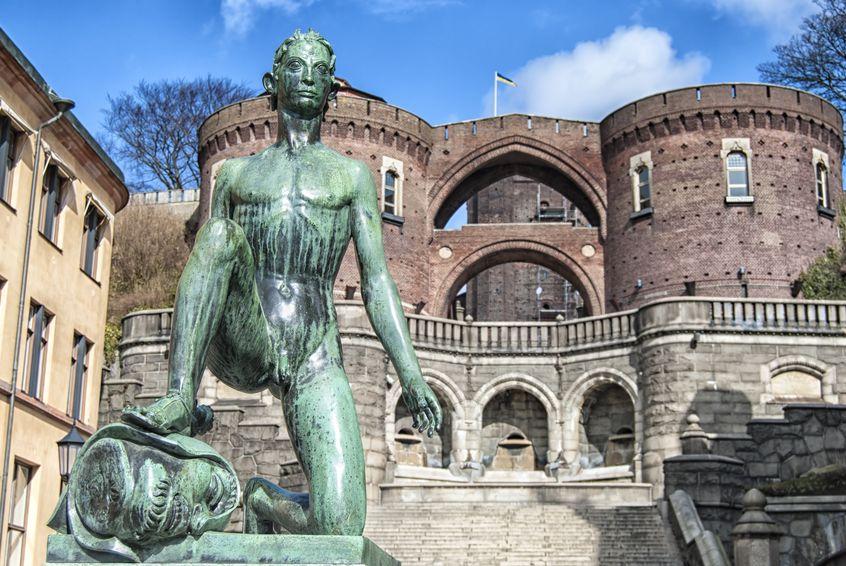 Das Tor zu Schweden in Helsingborg