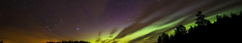 Polarlichter über Schweden