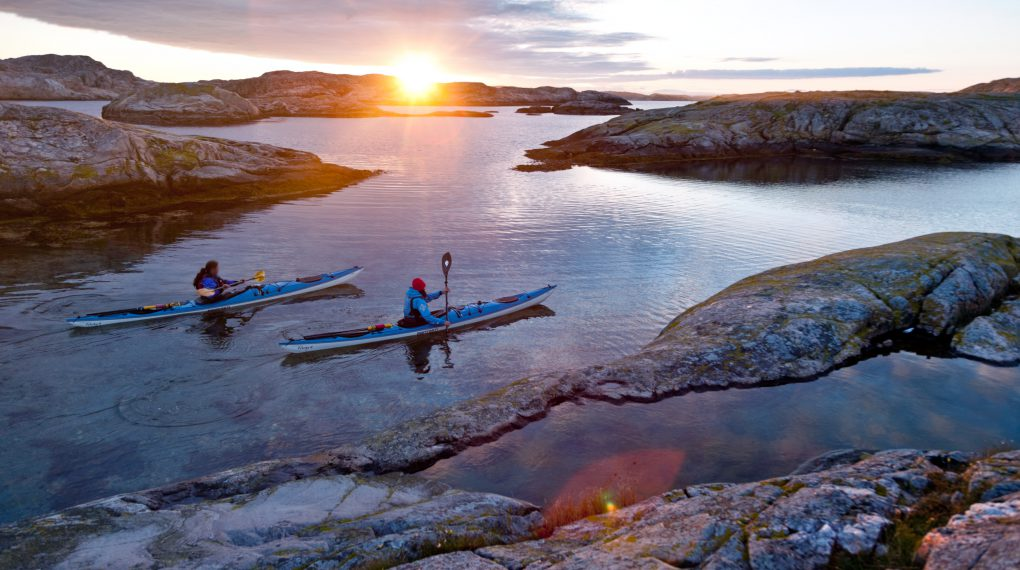 Kanufahrten in der Schärenlandschaft - Schweden Schären Urlaub
