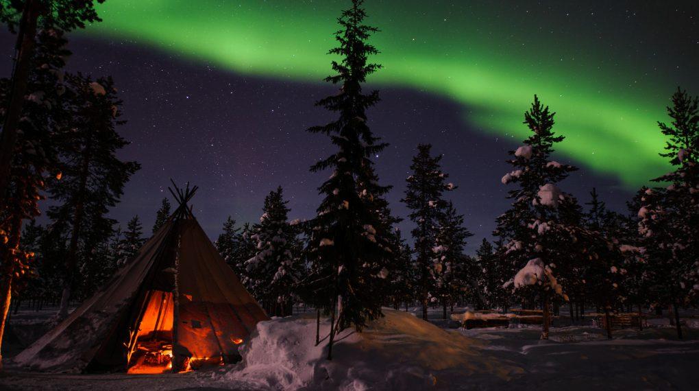 Nordlich in Schweden siehen - Wann ist die beste Zeit dafür?