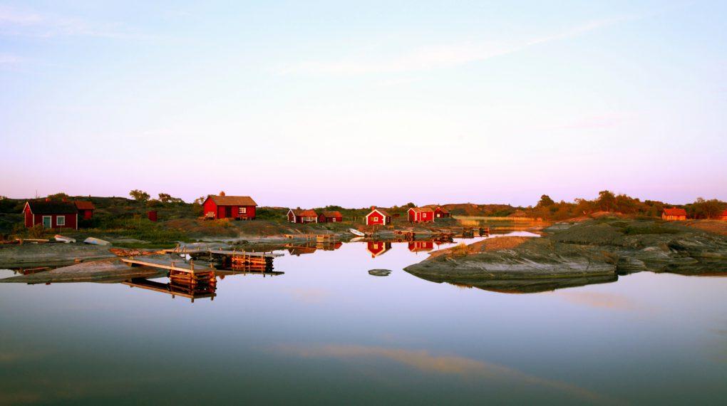 Stora Vånskär ist eine Inselgruppe des Archipels. Der Stockholmer Archipel hat zwischen 30 - 50.000 Inseln, Inselchen und Schären. -Schweden Schären Urlaub
