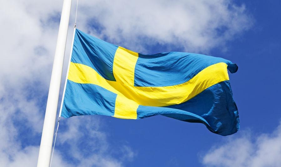 Die Flagge Schwedens