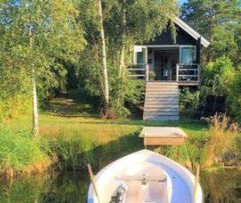 Ferienhaus in Schweden Småland - Rockneby Schärengarten der Südostküstefür max. 3 Erwachsene und 2 Kinder
