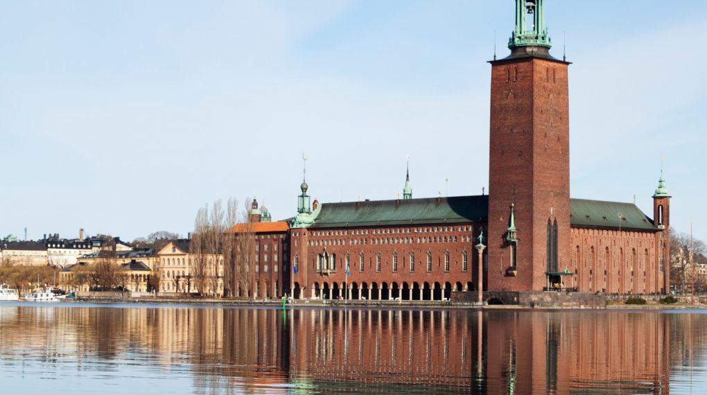 Rathaus (Stadshus) in Stockholm