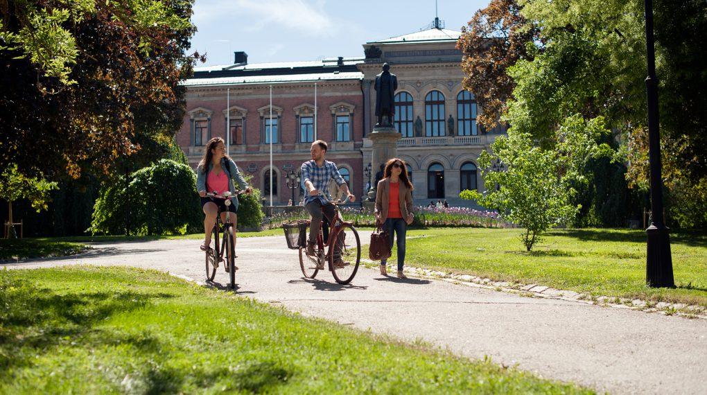 Uppsala -  Uppsala ist eine traditionelle und bekannte Universitätsstadt // Cecilia Larsson Lantz/Imagebank.sweden.se