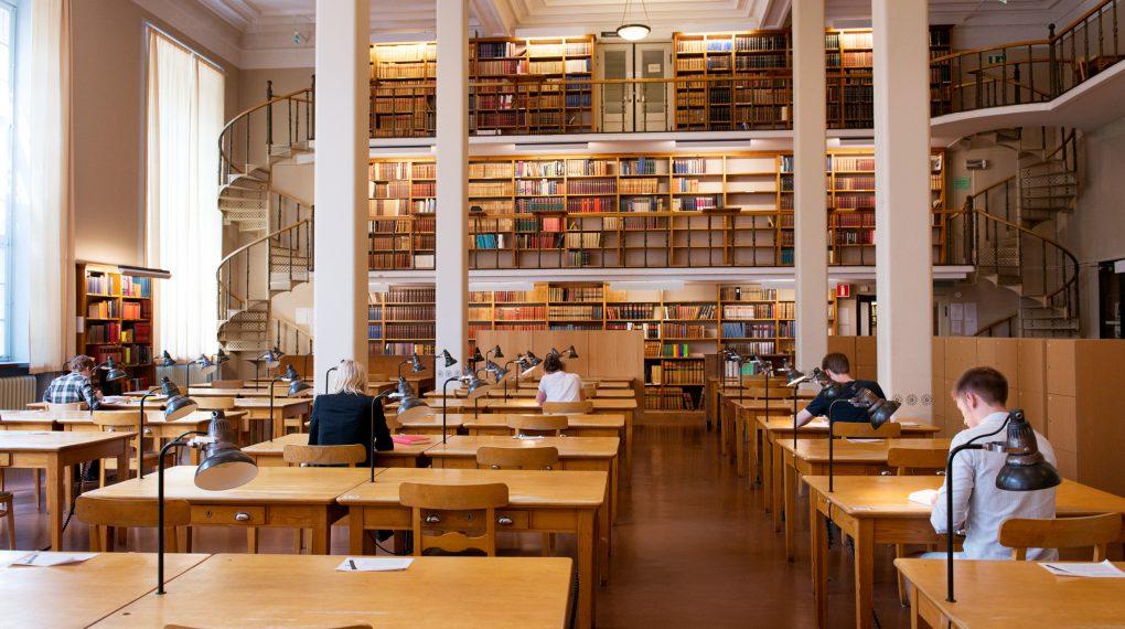 Uppsala - die  Universitätsbibliothek  // Cecilia Larsson Lantz/Imagebank.sweden.se