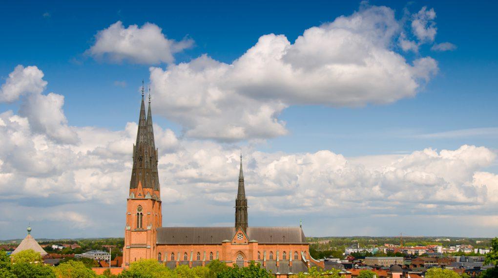 Uppsala Sehenswürdigkeiten -  Die Uppsala-Kathedrale  // Mark Harris/imagebank.sweden.se