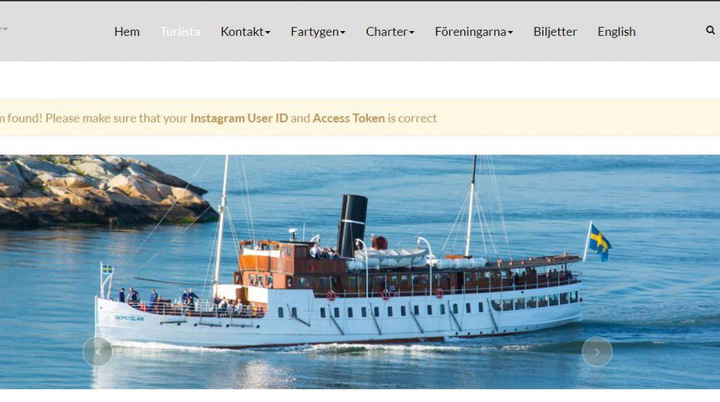 Dampfschifffahrten im Archipel vor Göteborg