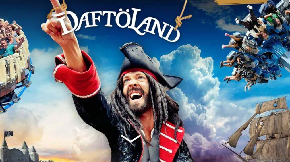 Piraten-Vergnügungspark von Daftöland - Strömstad