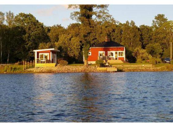Ferienhaus Schweden direkt am See in Holmsjö